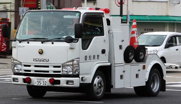 愛知県警 レッカー車