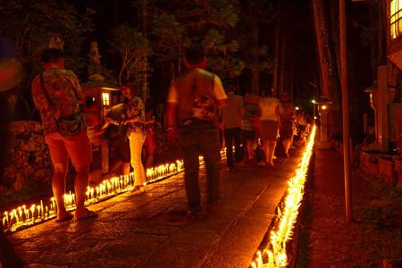 高野山奥の院 ろうそく祭り4