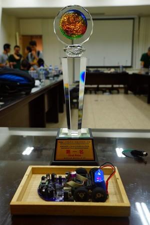 台湾大会優勝トロフィー