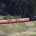 Photos: 小湊鐵道を俯瞰