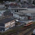 電車の倉庫