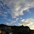 写真: 江の島から秋の空