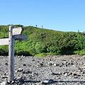 写真: 100722-59三股への分岐からの蝶ヶ岳