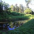 写真: 100722-68蝶ヶ岳登山・妖精の池
