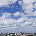 写真: 夏空連雲