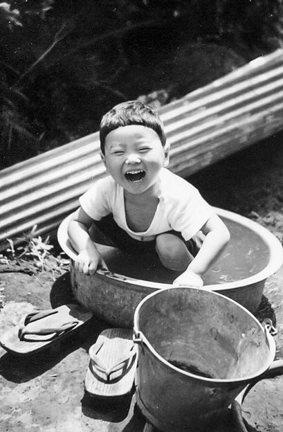 写真: 忘れた笑顔