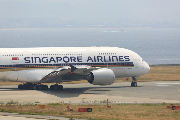 写真: シンガポール航空 A380