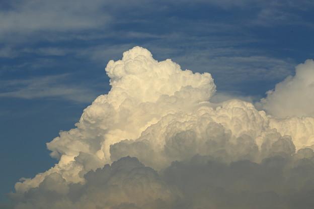 晩夏の積乱雲