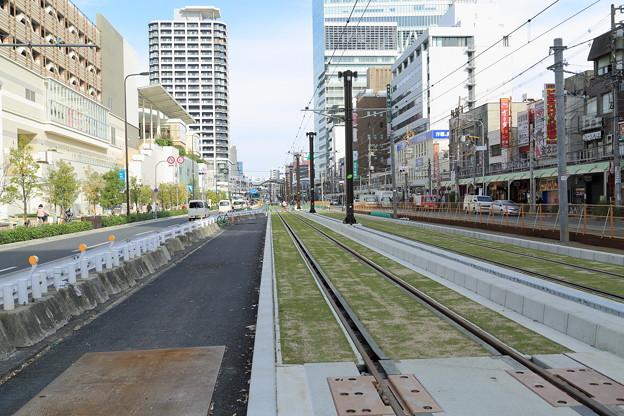 阿倍野~天王寺駅前 新線路