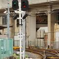 Photos: 住吉公園停留場・場内信号機