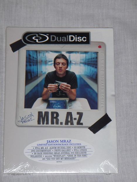 Jason Mraz - Mr.A-Z Limited Edition(Dual-Disc)_Front