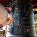 写真: 相賀八幡神社の鐘楼です。