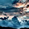 スコール後の夕雲・