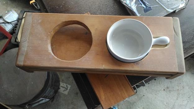 猫の水飲み台