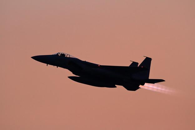 Photos: F-15J 夕焼け空にtakeoff
