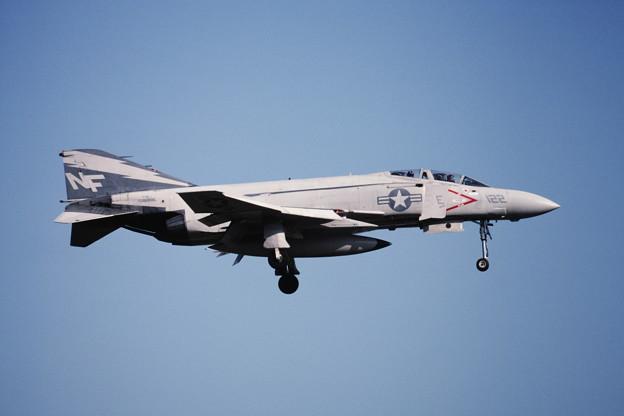 USN F-4J 158356 NF122 VF161 Atsugi1981