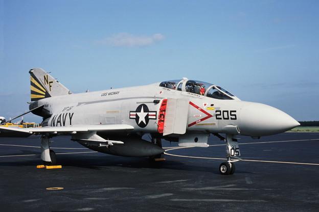 USN F-4S 153880 NF205 VF151 RJSM1983