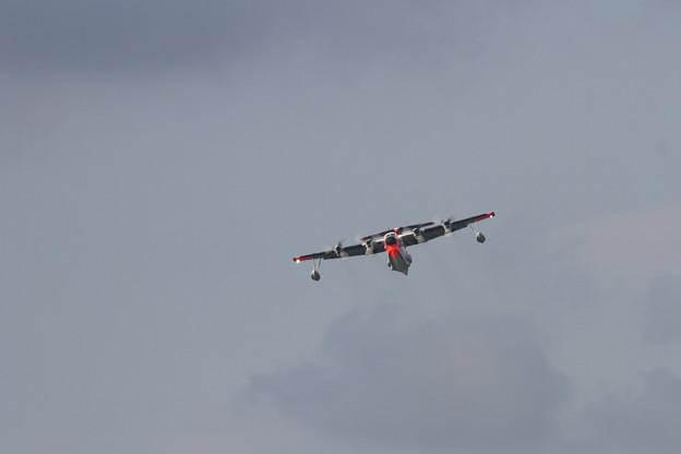 US-1A 9090 岩国へ帰投(1)