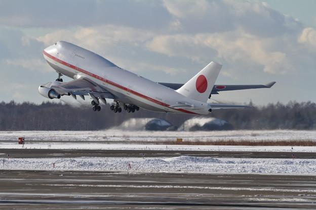B747 Cygnus02 takeoff