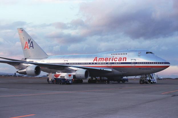 B747SP-31 N602AA American CTS 1989秋