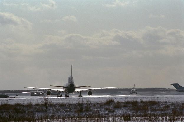 千歳飛行場 1986冬 (1)