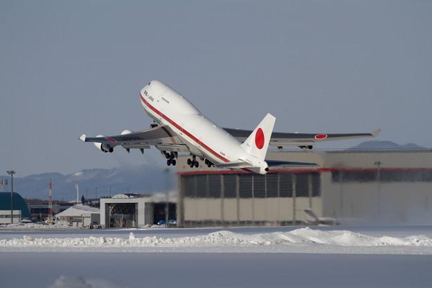 B747 Cygnus01 takeoff