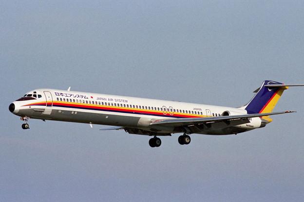 MD-81 JA8498 JAS CTS 1989