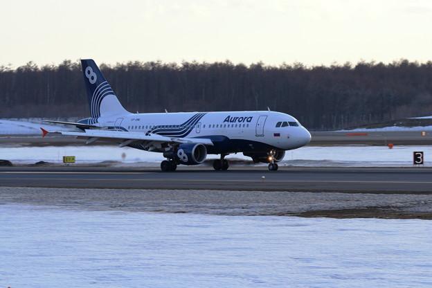 久し振りのAurora A319 VP-BWL