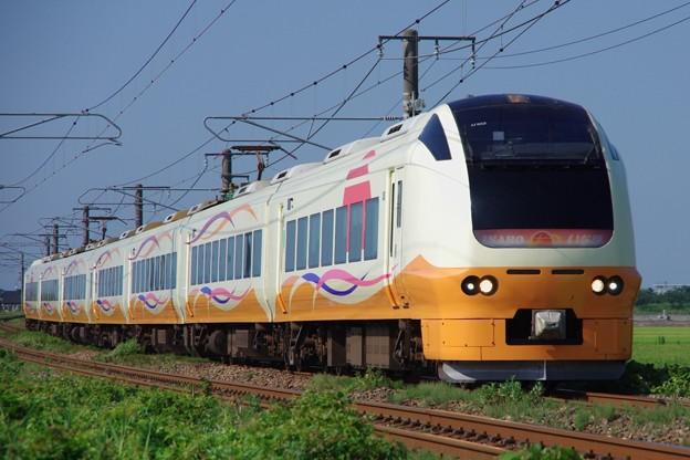 E653系1000番台U103編成「専用臨時列車で行く 青森ねぶた祭り」