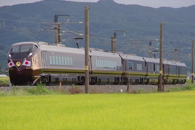 """E655系""""和(なごみ)"""" ※TR車(E655-1)込み  お召し列車(復路)"""