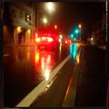 雨夜の彩り