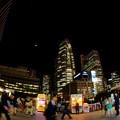 某日、新宿駅西口より(E-P3)
