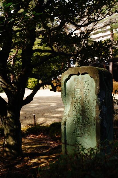 木漏れ日の碑(いしぶみ)