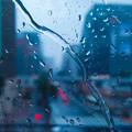 写真: 雨の有楽町
