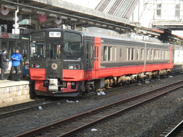 JRE EMU 719 [FruiTea] @ Koriyama station, for Ban-etsu west line