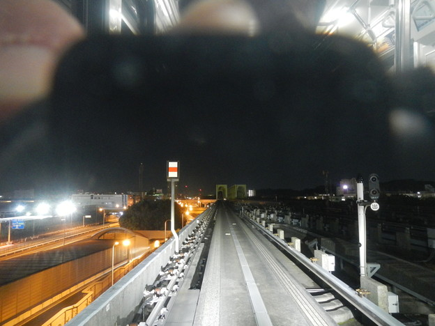 Yokohama Seaside Line, track (Automated Guideway Transit)