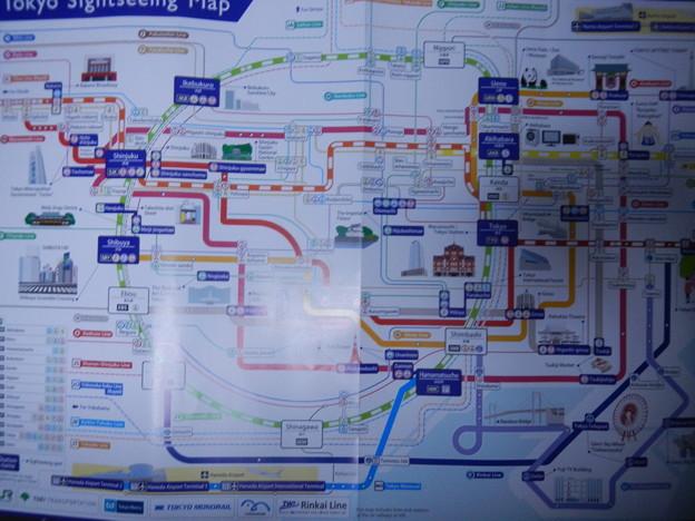 英語の首都圏JR地図