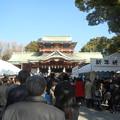 Photos: 拝殿に向かう