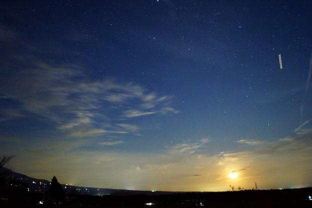 月と星と飛行機と~