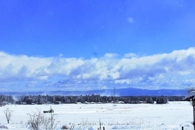 雪野原と~