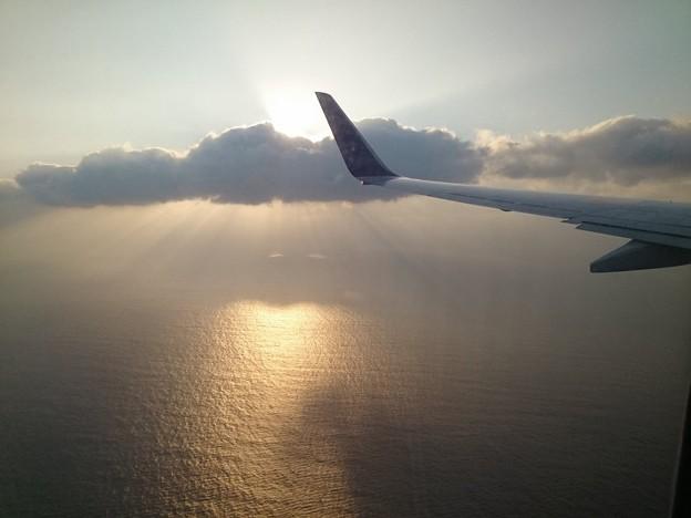 那覇空港上空