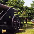 写真: 大砲