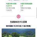 写真: Googleマップから来た足利CCコース画像2万回達成のお知らせ