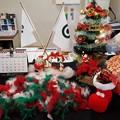 Photos: 足利カントリークラブ多幸コースフロント前のクリスマス飾り