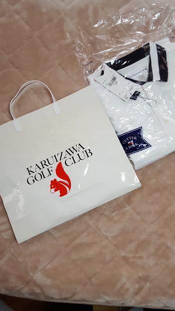 Photos: 軽井沢ゴルフ倶楽部で買ったplay fastのポロシャツ