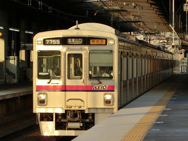 京王7000系(7705F+7805F) 準特急高尾山口行き