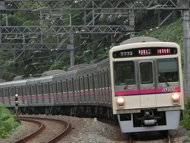 京王7000系LED車(7723F) 準特急高尾山口行き