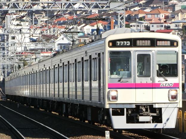 京王7000系LED車(7723F) 準特急京王八王子行き