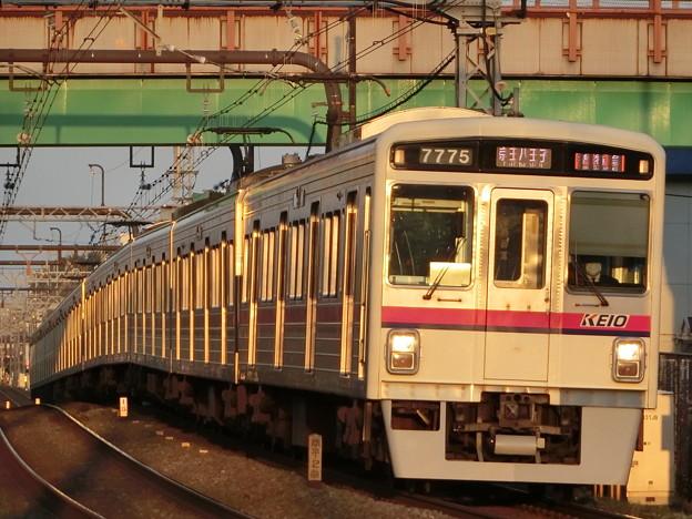 京王7000系LED車(7725F) 準特急京王八王子行き