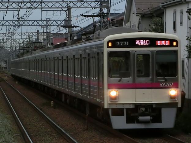 京王7000系LED車(7721F) 準特急高尾山口行き